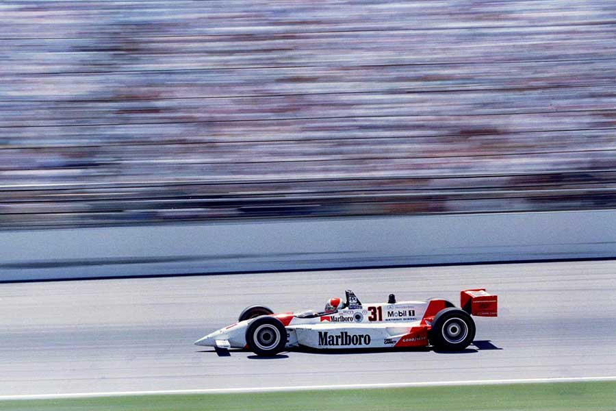 1994: Al Unser Jr takes the win for Team Penske