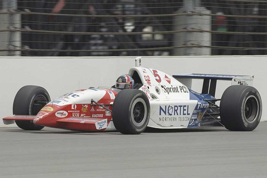 1997: Dutch flyer Arie Luyendyk claims his second Indy 500 victory