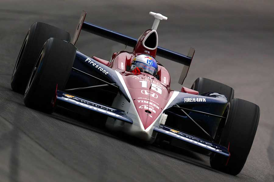 2004: Buddy Rice wins a rain-shortened race at Indy