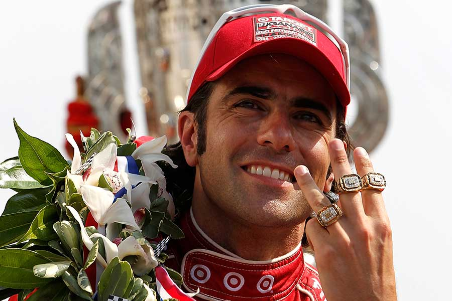 2012: Dario Franchitti becomes a three-time winner at Indy
