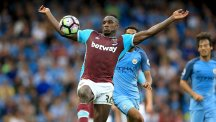 West Ham's Michail Antonio has been named in Sam Allardyce's first England squad