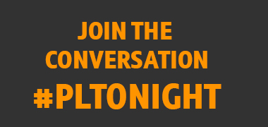 Join the conversation #PLTonight