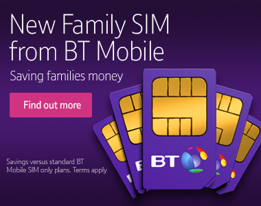 BT Mobile New Family SIM