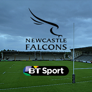 Watch Newcastle Falcons live on BT Sport
