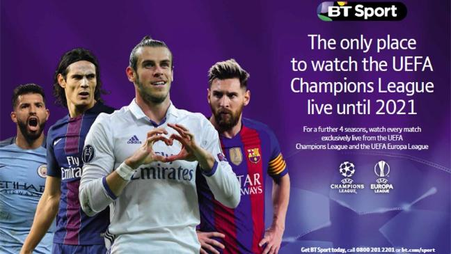 BT share price steady as group retains Champions League rights