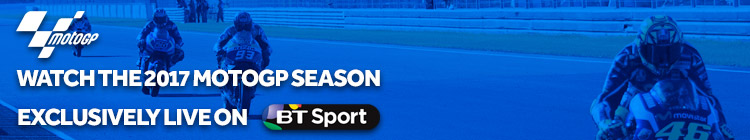 Watch the MotoGP 2017 season exclusively on BT Sport