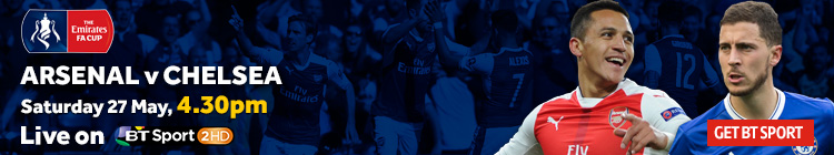 Watch Arsenal v Chelsea on BT Sport