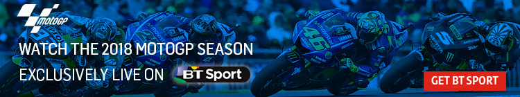 Watch the MotoGP 2018 season exclusively on BT Sport