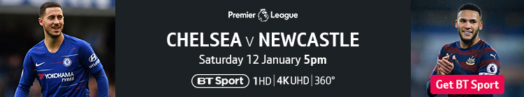 Join now to watch Chelsea v Newcastle on BT Sport