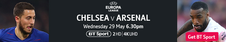 Join now to watch Chelsea v Arsenal on BT Sport