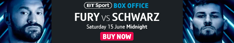 Buy now to watch Fury vs Schwarz exclusively live on BT Sport Box Office