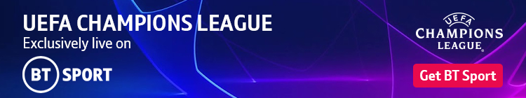 Join now to watch UEFA Champions League football exclusively live on BT Sport