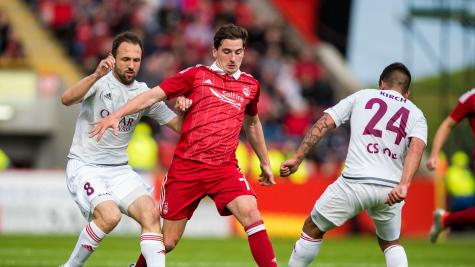 Norwich close in on signing Aberdeen's Kenny McLean