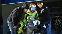Aegerter tests with Akira at Jerez
