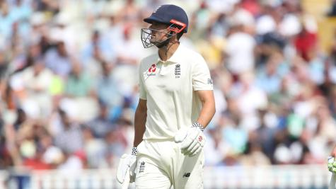 India Slips 160-6 in Day Two of Test Match Against England