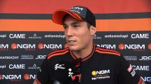 Aleix Espargaro disappointed after collision ends top five quest