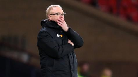 Alex McLeish willing to sacrifice Scotland win ratio to find right formula