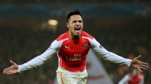 Alexis Sanchez scored for Arsenal against Dortmund in midweek