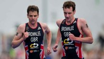 Alistair and Jonathan Brownlee