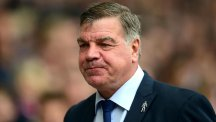 West Ham manager Sam Allardyce is trying to keep his players' feet on the ground