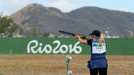 Kim Rhode Becomes First Woman To Medal At Six Straight Olympic Games