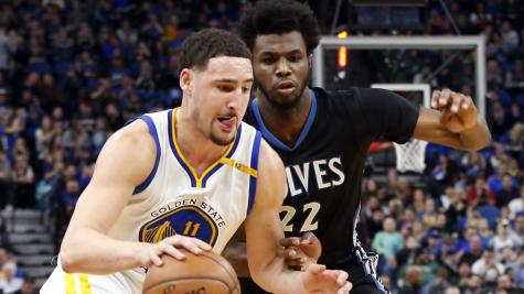 Andrew Wiggins inspires Minnesota to win over Golden State