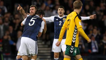 McArthur salvages point for Scotland at home to Lithuania