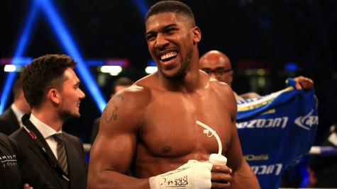 Anthony Joshua tells Deontay Wilder the pair will fight on 'my terms'