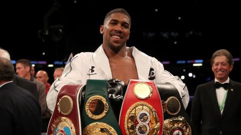 Anthony Joshua to stage next two fights at Wembley