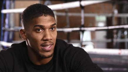 Anthony Joshua was speaking exclusively to Boxing Tonight