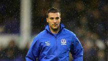 Former Everton striker Apostolos Vellios made only three starts for the Merseysiders