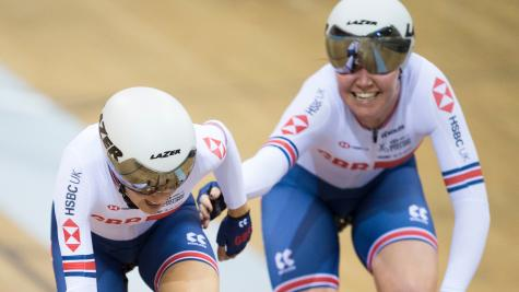 Archibald and Barker claim Madison silver on final day of UCI Track World Cup