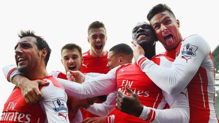 Arsenal are the champions elect according to Mike Calvin.