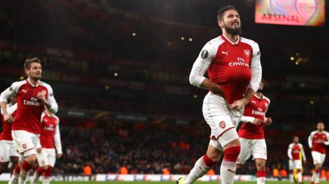 Arsenal hit BATE Borisov for six in Europa League stroll