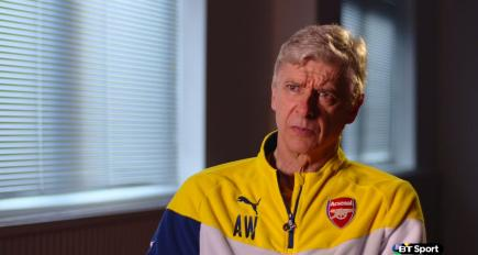 Wenger wants fans to back Gunners