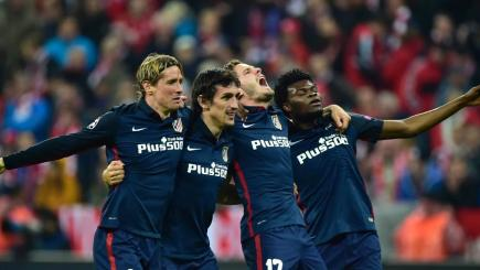 Atletico see off Bayern to book final spot