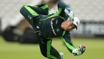 Peter Nevill will be charged with clinging on to white balls in India