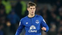 Leighton Baines believes fellow Everton defender John Stones, pictured, has a big future ahead of him