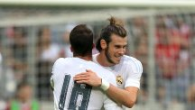 Gareth Bale is enjoying life in Madrid