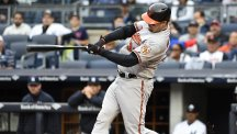 Matt Wieters helped the Baltimore Orioles secure a 5-2 win over the New York Yankees (AP)