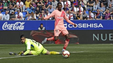 K.P Boateng plays full throttle as Barcelona draw at Huesca