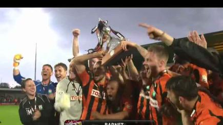 Barnet promoted