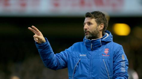 Danny Cowley: Lincoln City boss thought Wembley opportunity was gone