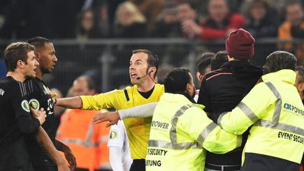 Bayern Munich pitch invader