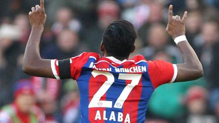 Bayern Munich's David Alaba