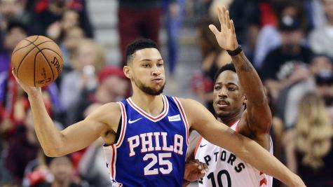Ben Simmons' triple-double paces Sixers past Pistons