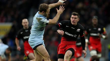 Magical assist from Saracens scrum-half