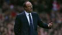 Napoli manager Rafael Benitez began his coaching career with Real Madrid's B team
