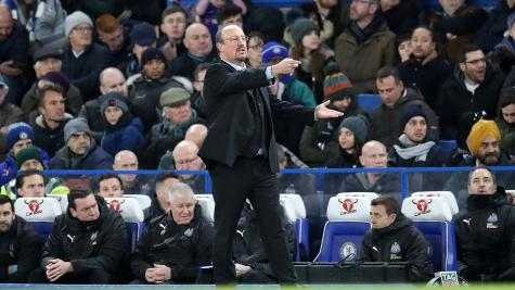 Benitez defends his decision to prioritise Premier League over FA Cup