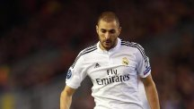 Karim Benzema is facing a spell on the sidelines